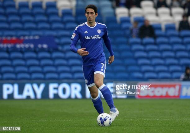 Peter Whittingham of Cardiff City during the Sky Bet Championship match between Cardiff City and Birmingham City at The Cardiff City Stadium on March...