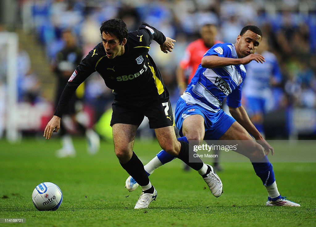 Reading v Cardiff City - npower Championship Play Off Semi Final First Leg : News Photo