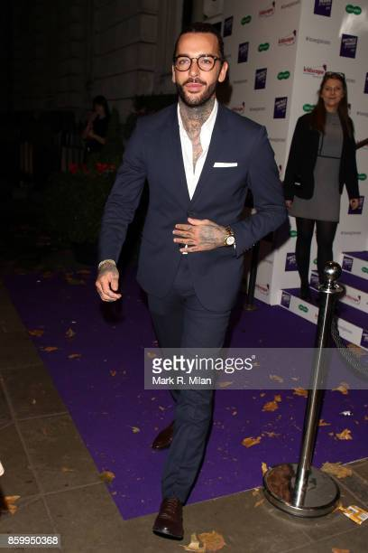Peter Wicks attending the Specsavers 'Spectacle Wearer of the Year' awards on October 10 2017 in London England