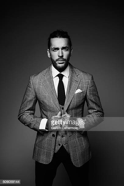 Peter Wicks poses in the Portrait Studio during the 21st National Television Awards at The O2 Arena on January 20 2016 in London England