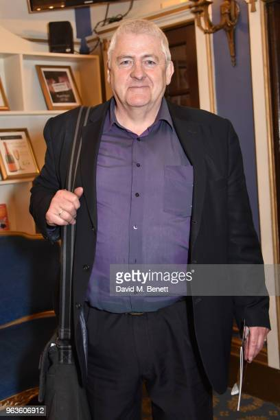 Peter Wight arrives at the press night performance of 'Consent' at the Harold Pinter Theatre on May 29 2018 in London England