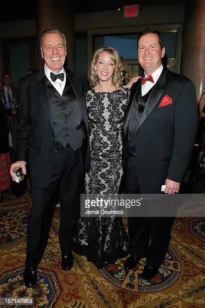 Peter Wilderotter Kelly and Patrick Hennigan attends the Christopher Dana Reeve Foundation's A Magical Evening Gala at Cipriani Wall Street on...