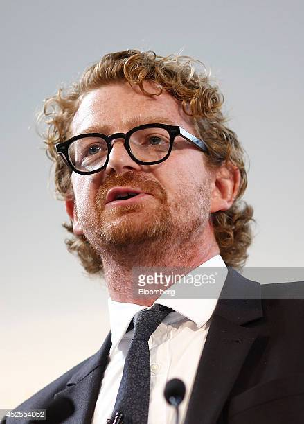 Peter Williams cofounder of Jack Wills Ltd speaks during the Commonwealth Games Business Conference in Glasgow UK on Wednesday July 23 2014 With less...