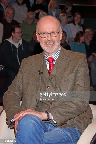 Peter Wohlleben during the Markus Lanz TV show on January 22 2020 in Hamburg Germany