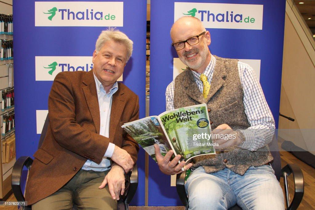 DEU: Reading Peter Wohlleben At Thalia