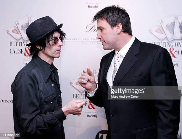 Peter Wolf of the J Geils Band and former NHL Boston Bruin Cam Neely