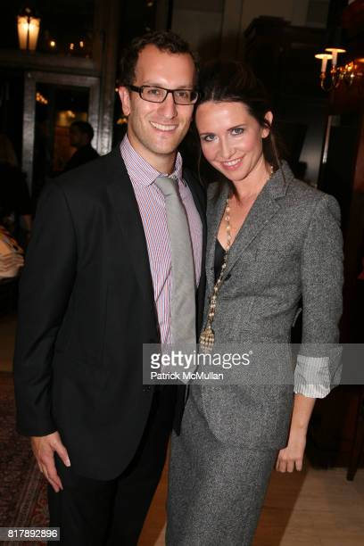 Peter Yozell and Janie Bryant attend The launch of 'True Prep' at Brooks Brothers on September 14 2010 in New York