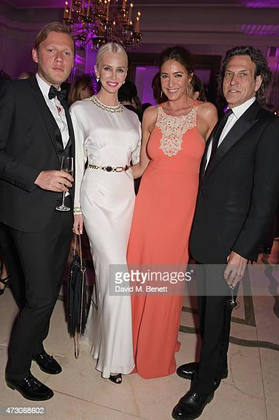 Peter Zaar Amanda Cronin Lisa Snowdon and Stephen Webster attend the Spring Gala In Aid of the Red Cross War Memorial Children's Hospital hosted by...