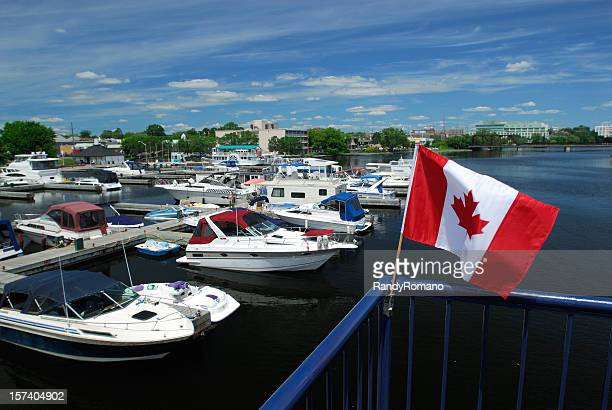 peterborough harbour - peterborough ontario stock photos and pictures