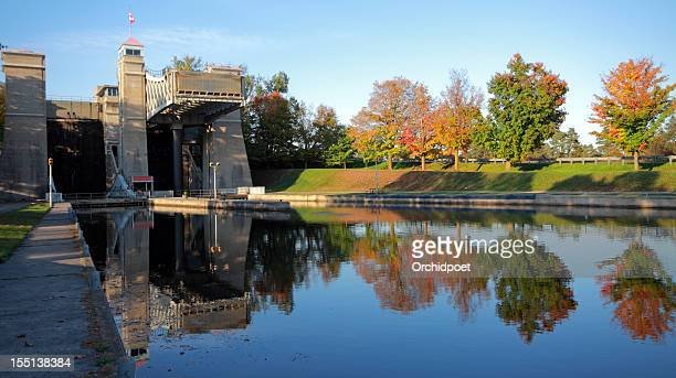 peterborough lift lock - peterborough ontario stock photos and pictures
