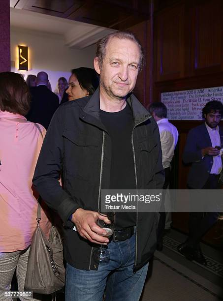 PeterHeinrich Brix attends the Studio Hamburg Nachwuchspreis 2016 at Thalia Theater on June 2 2016 in Hamburg Germany