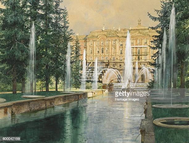Peterhof, 1898. Private Collection. Artist : Kopallik, Franz .