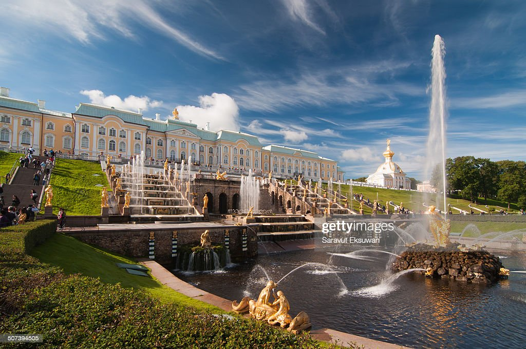 Peterhof Palace  : News Photo