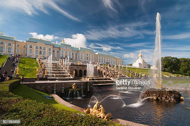 Peterhof Palace is located in Saint Peterburgs, Russia. The palace comprises a series of palaces and gardens. These palaces and gardens are also well...
