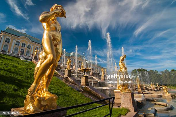 CONTENT] Peterhof Palace is located in Saint Petersburg Russia The palace comprises a series of palaces and gardens These palaces and gardens are...