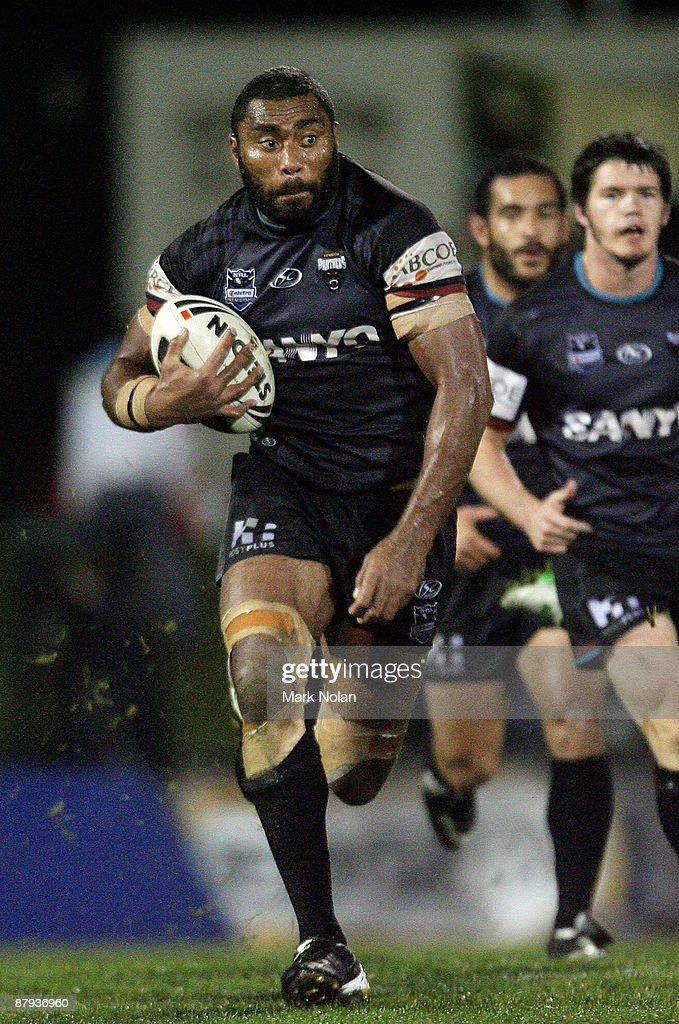 Petero Civoniceva of the Panthers in action during the round 11 NRL match between the Penrith Panthers and the Sydney Roosters at CUA Stadium on May 23, 2009 in Sydney, Australia.