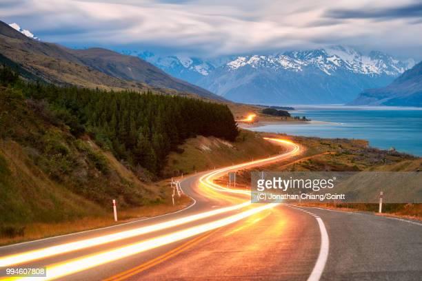 peter's highway - esposizione lunga foto e immagini stock