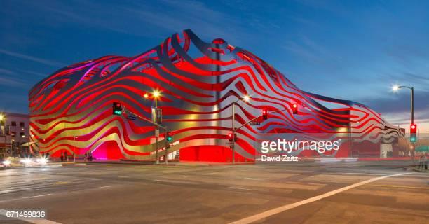 Petersen Automotive Museum in Los Angeles
