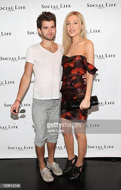 Peterson and Social Life Magazine Editor Devorah Rose attends the social life magazine party at The Social Life Estate on July 3, 2010 in Watermill,...