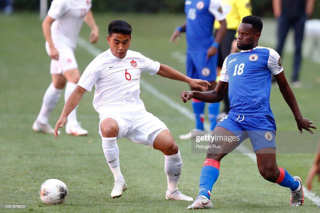 Haiti v Canada - 2020 Concacaf Men's Olympic Qualifying : News Photo
