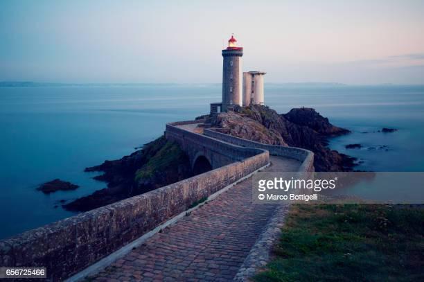 Petit Minou lighthouse. Brittany, France.