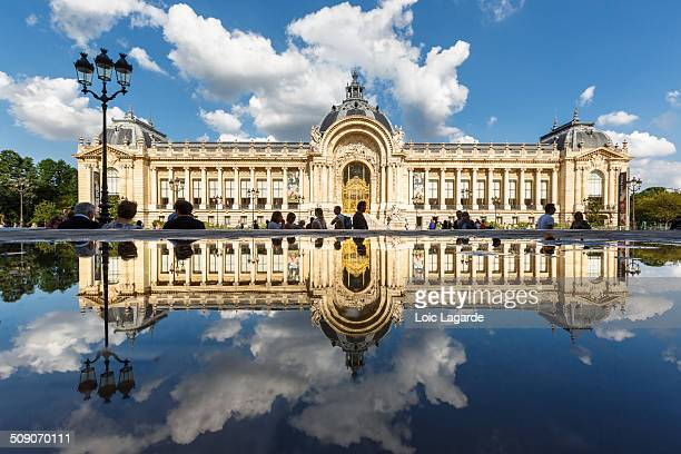 Petit Palais in Paris is a museum with gardens to the rear of the building and a number of columns on the facade.