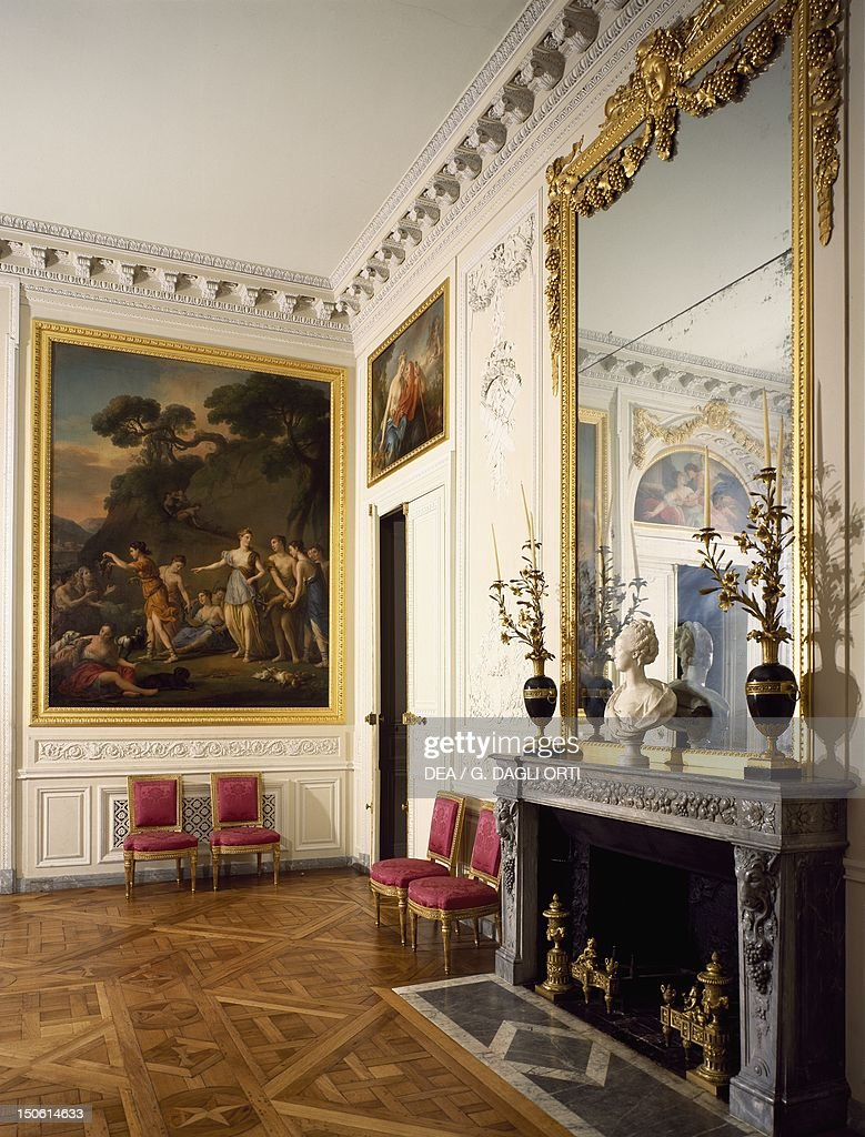 Petit Trianon Dining Room, Palace Of Versailles (UNESCO World Heritage  List, 1979)