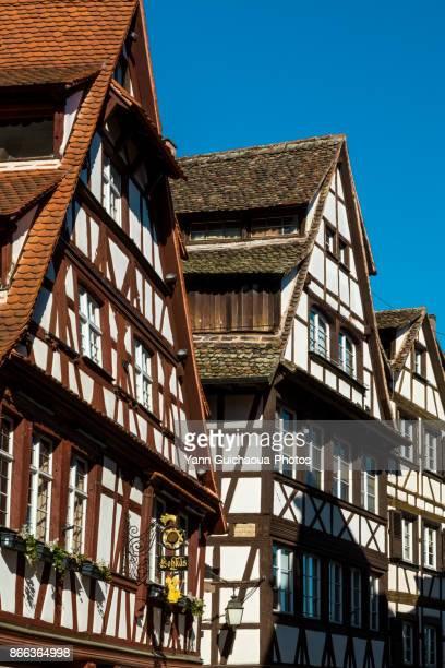 Petite France district, Strasbourg, Bas Rhin,Alsace, France
