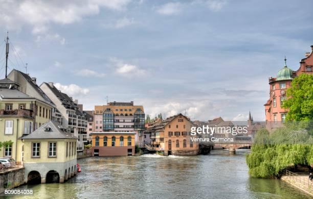 Petite France of Strasbourg - France.