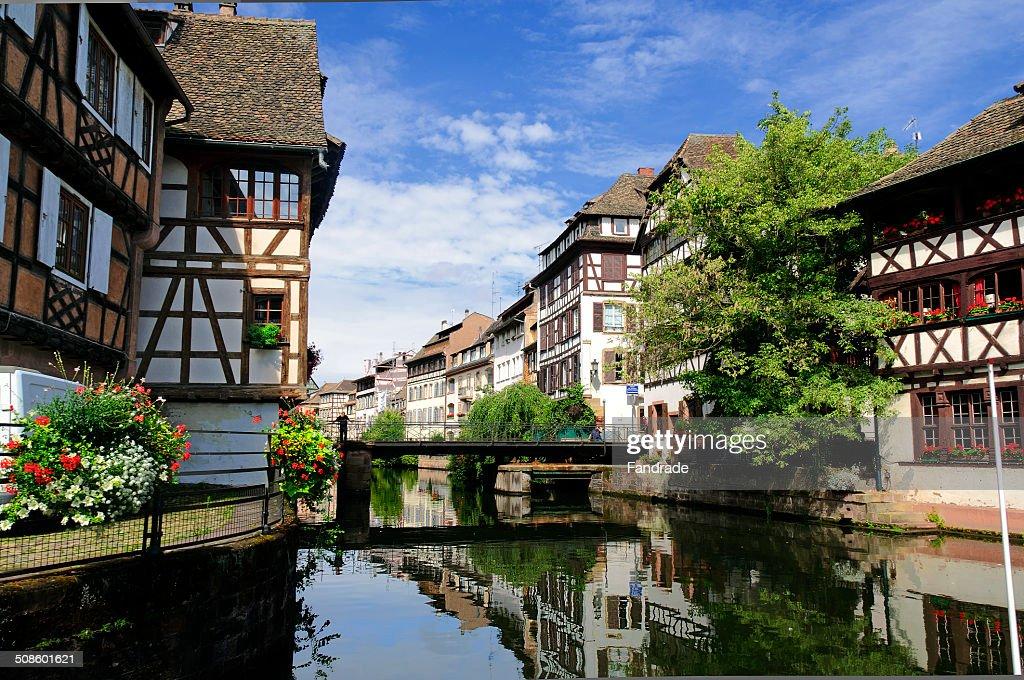 Petite France, Strasbourg : Foto de stock
