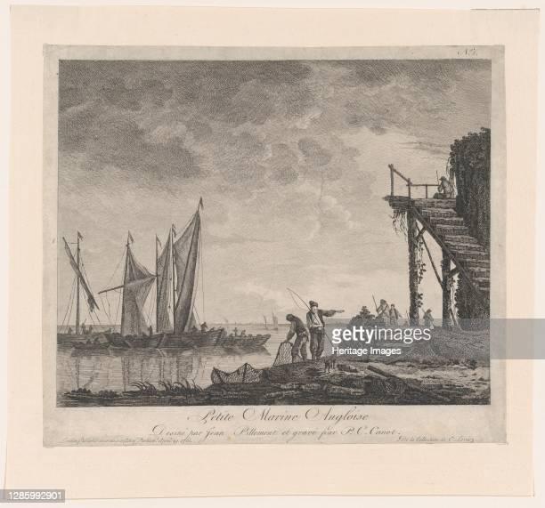 Petite Marine Angloise 1761 Artist PierreCharles Canot