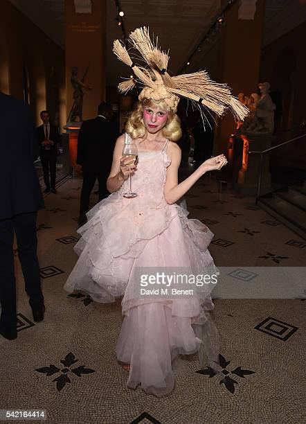 Petite Meller attend the 2016 VA Summer Party In Partnership with Harrods at The VA on June 22 2016 in London England