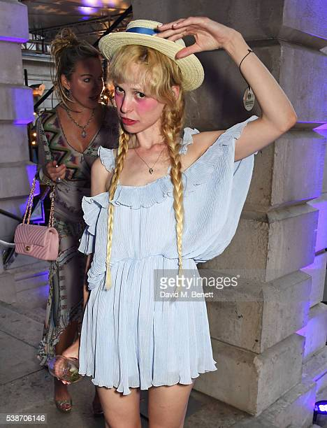 Petite Meller attends a VIP preview of the Royal Academy of Arts Summer Exhibition 2016 on June 7 2016 in London England