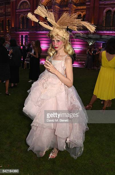 Petite Meller attends the 2016 VA Summer Party In Partnership with Harrods at The VA on June 22 2016 in London England