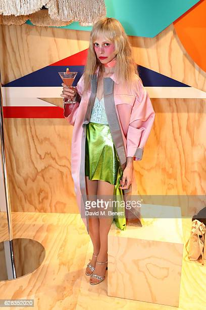 Petite Meller attends the Miu Miu Cocktail Party for the SS17 Collection at Miu Miu New Bond Street on December 7 2016 in London England