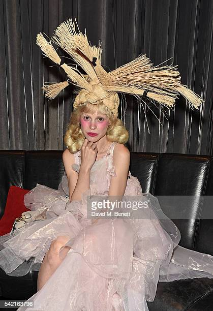 Petite Meller joins Delta Air Lines for 'Baseline Sessions' a private karaoke event to celebrate London's most iconic tennis tournament at the W...