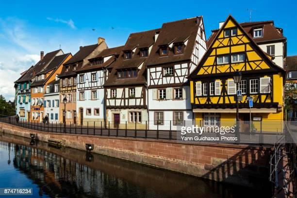 Petite Venise district,quai de la Poisonnerie, Colmar, Haut Rhin, Alsace, France