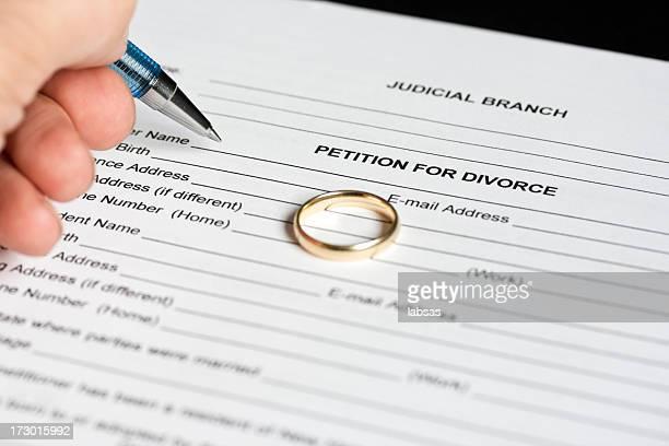 pedido de divórcio. - petição - fotografias e filmes do acervo