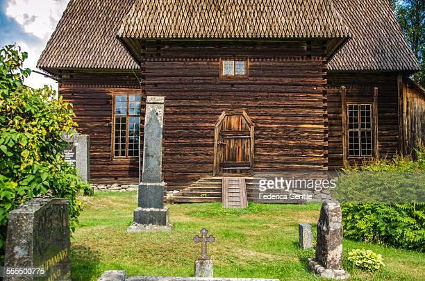 petäjävesi old church - unesco stock-fotos und bilder