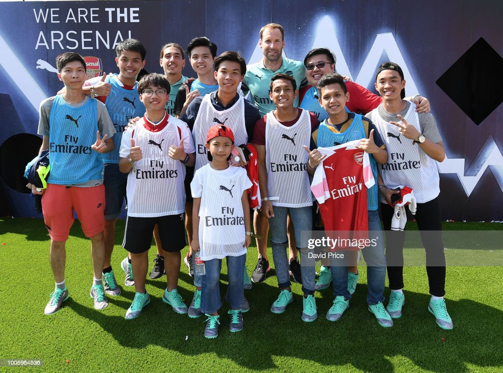 Arsenal Pre-Season Tour : News Photo