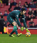 london england petr cech arsenal during