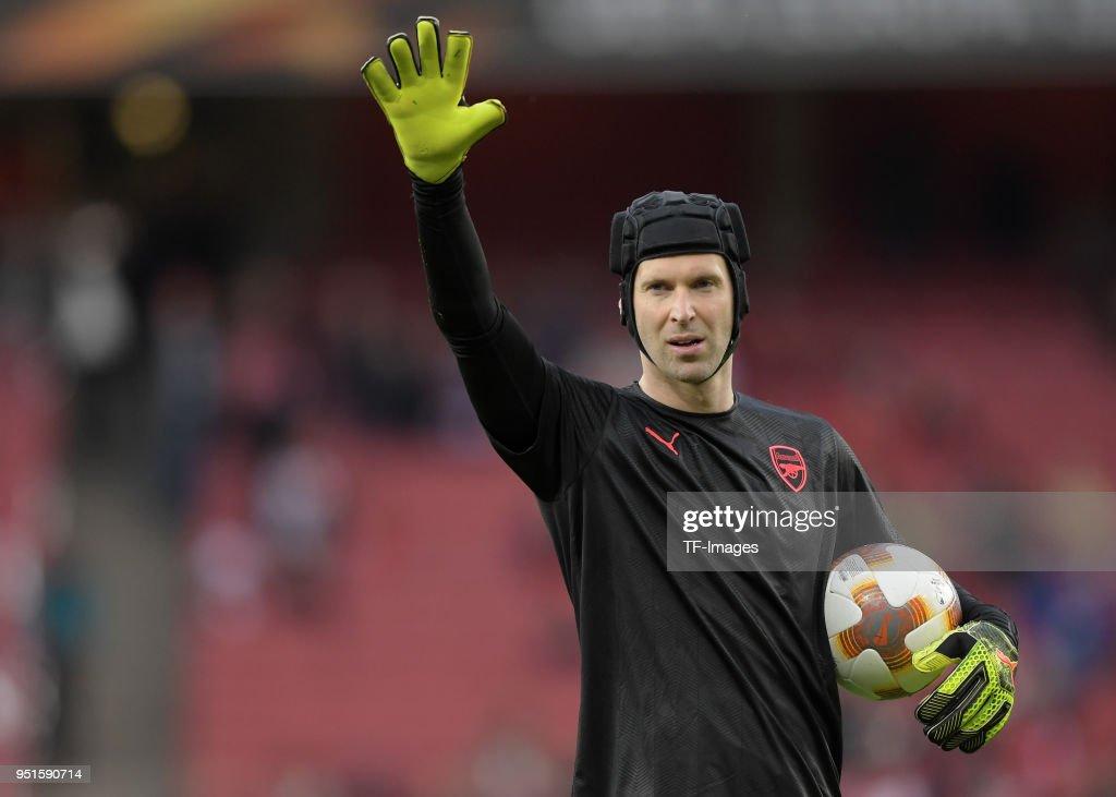 Arsenal FC v Atletico Madrid - UEFA Europa League Semi Final Leg One : ニュース写真