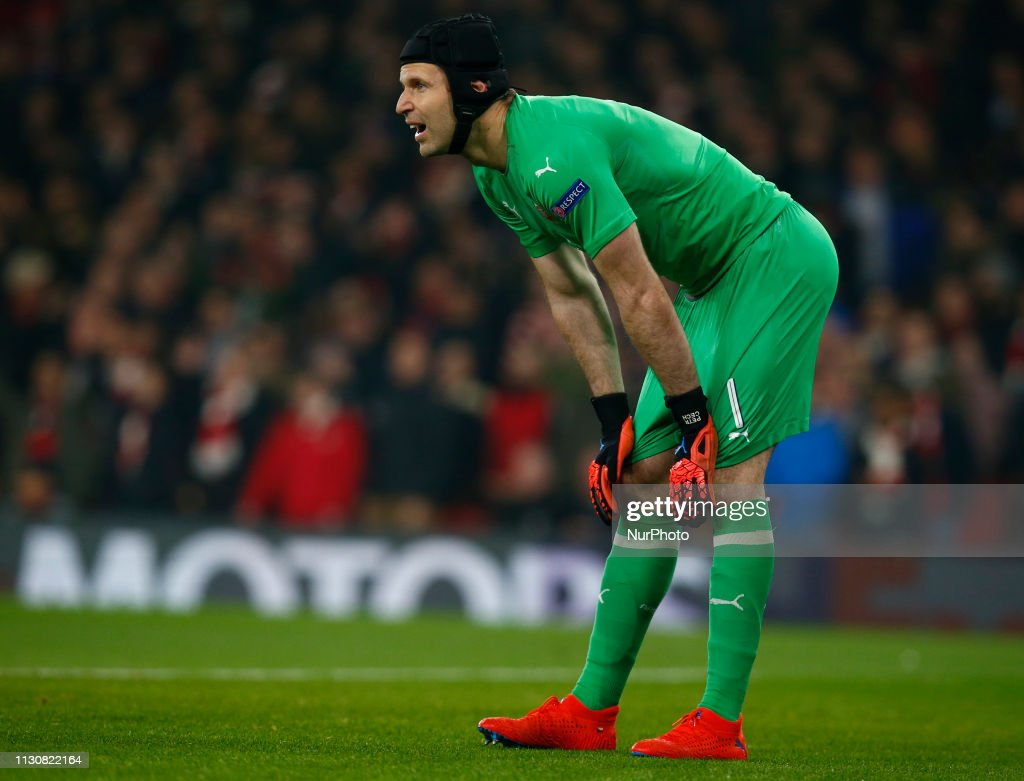 Arsenal v Rennes - Europa League Round of 16 2nd Leg : News Photo