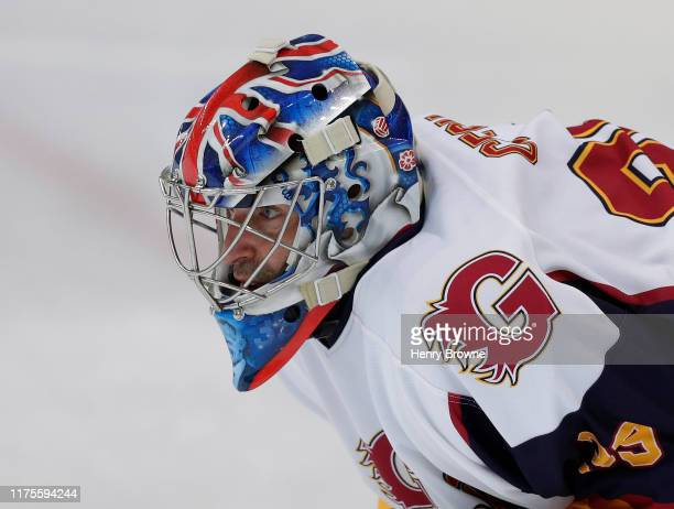 Petr Cech of Guildford Phoenix during the match between Guildford Phoenix and Swindon Wildcats on October 13, 2019 in Guildford, England.