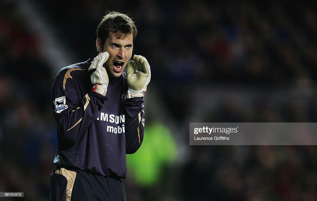 Barclays Premiership - Manchester United v Chelsea : News Photo