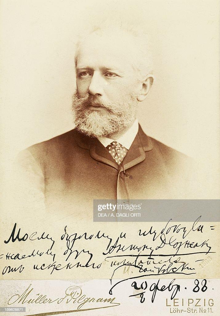Petr Ilyich Tchaikovsky... : News Photo