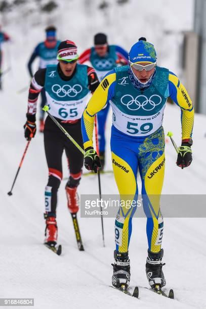 Petr Knop ofCzech Republic at Men's 15km 15km Skiathlon at olympics at Alpensia cross country stadium Pyeongchang South Korea on February 11 2018...
