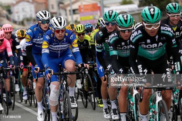 Petr Vakoc of Czech Republic and Team Deceuninck QuickStep / Remi Cavagna of France and Team Deceuninck QuickStep / Jay Mc Carthy of Australia and...