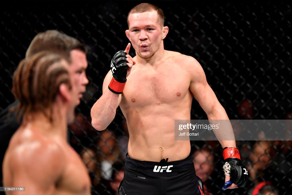 UFC 245: Yan v Faber : News Photo