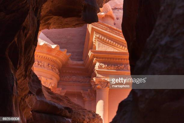 Ciudad antigua de Petra, Jordania